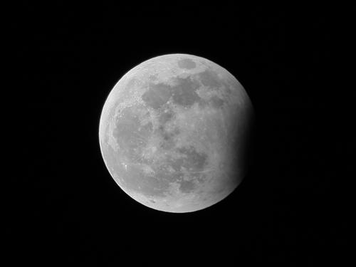 Eclipse parcial de Luna 31/12/2009