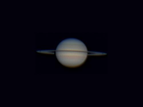 Saturno captado la noche del 05/04/2009