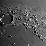 Mare Imbrium, Plato y Vallis Alpes.