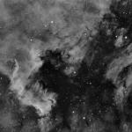 NGC7000 en Ha y SHO