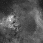 Cederblad 214 y NGC7822 en Ha