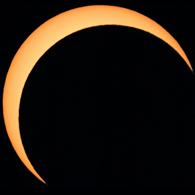Eclipse parcial de Sol (Noviembre 2013) 1