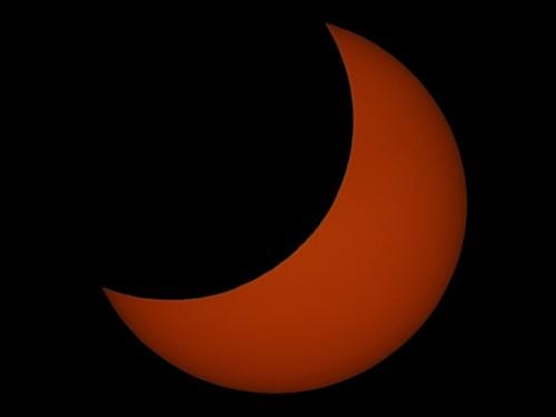 Eclipse de Sol 04 de enero del 2011 - Haz click para ampliar