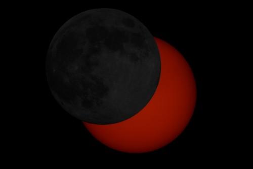 Montaje Eclipse 04/01/2011 con Luna llena