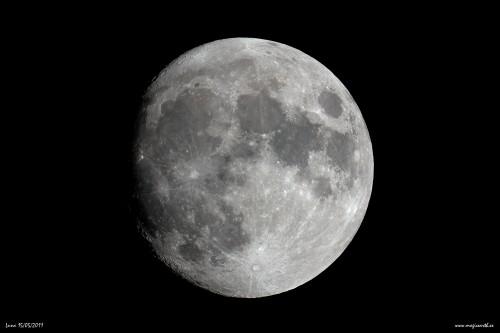 Fase lunar del día 15/05/2011