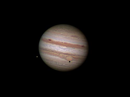 Jupiter: Tránsito de Europa y su sombra por la GMR