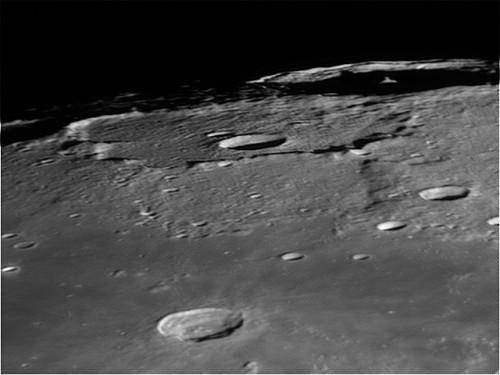 Cráter Babbage y Mare Frigoris a través de un Celestron C11 XLT