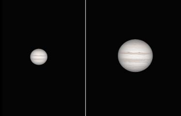 Jupiter a través del ocular