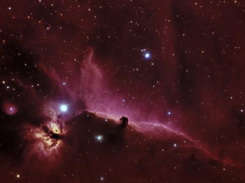 IC434 Horse Nebula en HSHb