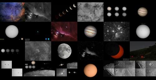 Astrofotografía: Recopilación 2011
