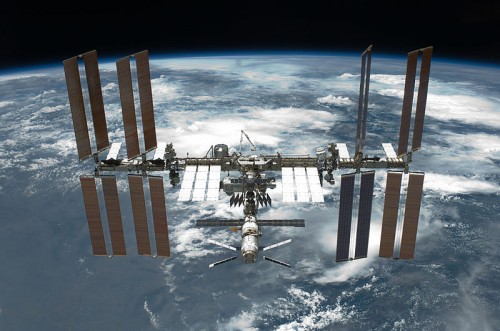 Fotografía tomada desde el Endeavour - STS134 (mayo 2011)