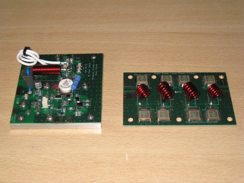 Broadcast Concepts - BLF177 150w y filtro LPF
