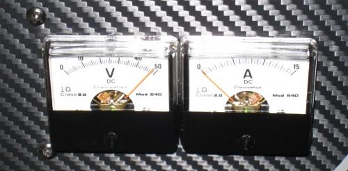 Demestres mod.540 - Voltímetro y Amperímetro