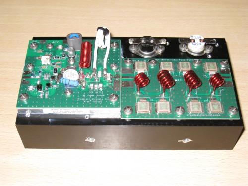 Etapa RF y LPF terminada y lista para instalar
