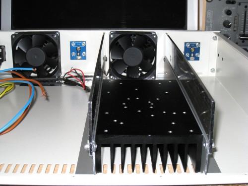 Refrigerador aluminio y ventilación forzada