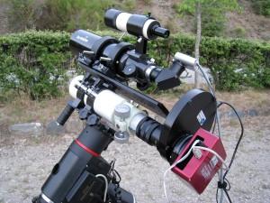 Set astrofotografía FS60C, ATIK383L+, HEQ5 SynScan