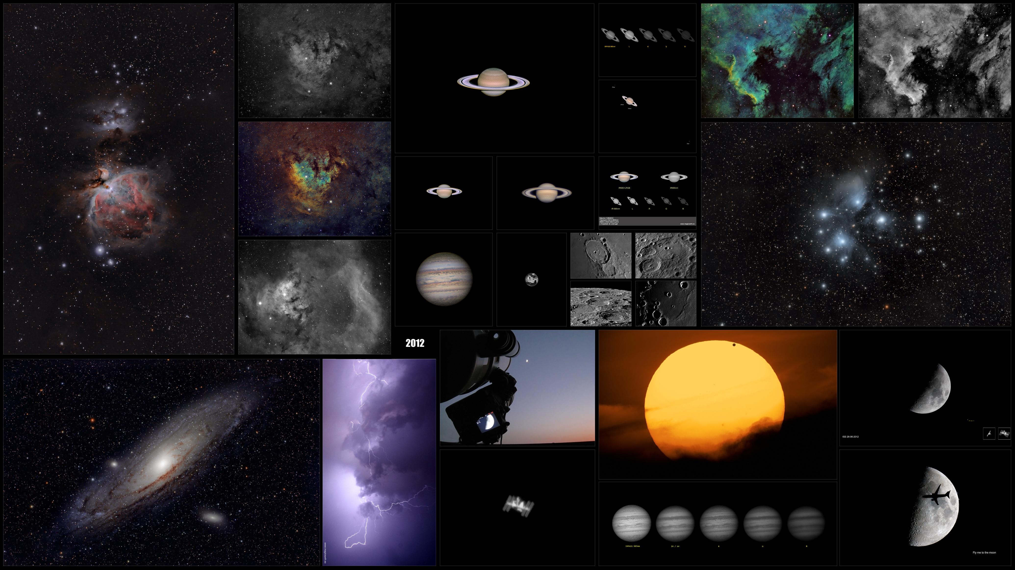 Astrofotografía: Recopilación de imágenes 2011