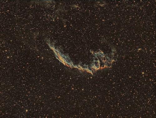 NGC6992 - Atik383L+ (Binning 2x2) Ha+OIII+SII