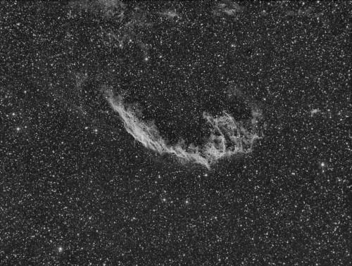 NGC6992 - Atik383L+ (Binning 2x2)