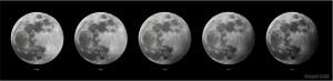 Secuencia del Eclipse Penumbral (19/10/2013)