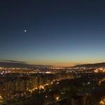 Conjunción Venus y la Luna