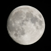Luna con teleobjetivo de 400mm