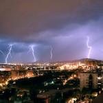 Tormenta eléctrica 12/08/2007 (L'Hospitalet de Llobregat)