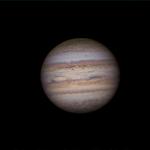 Jupiter en IR-RGB