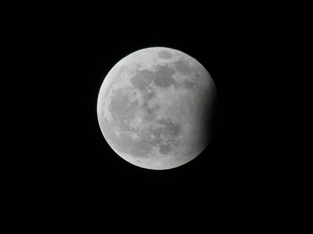 Eclipse parcial de Luna (2009)