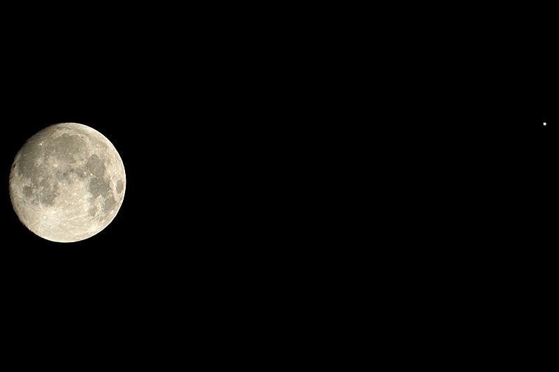 Luna y Júpiter con SkyWatcher 80/400