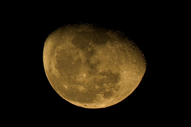 Luna (fases lunares), año 2005