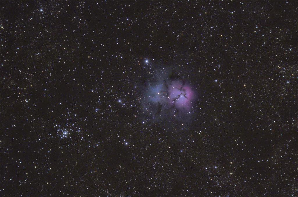 M20 – Nebulosa Trífida