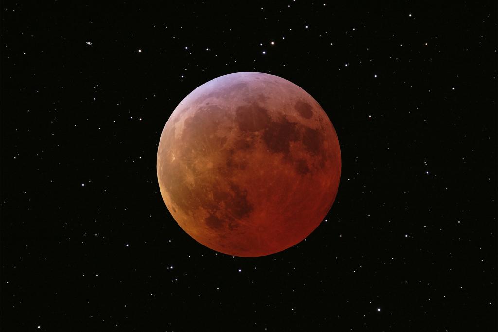 Eclipse de Luna y M44