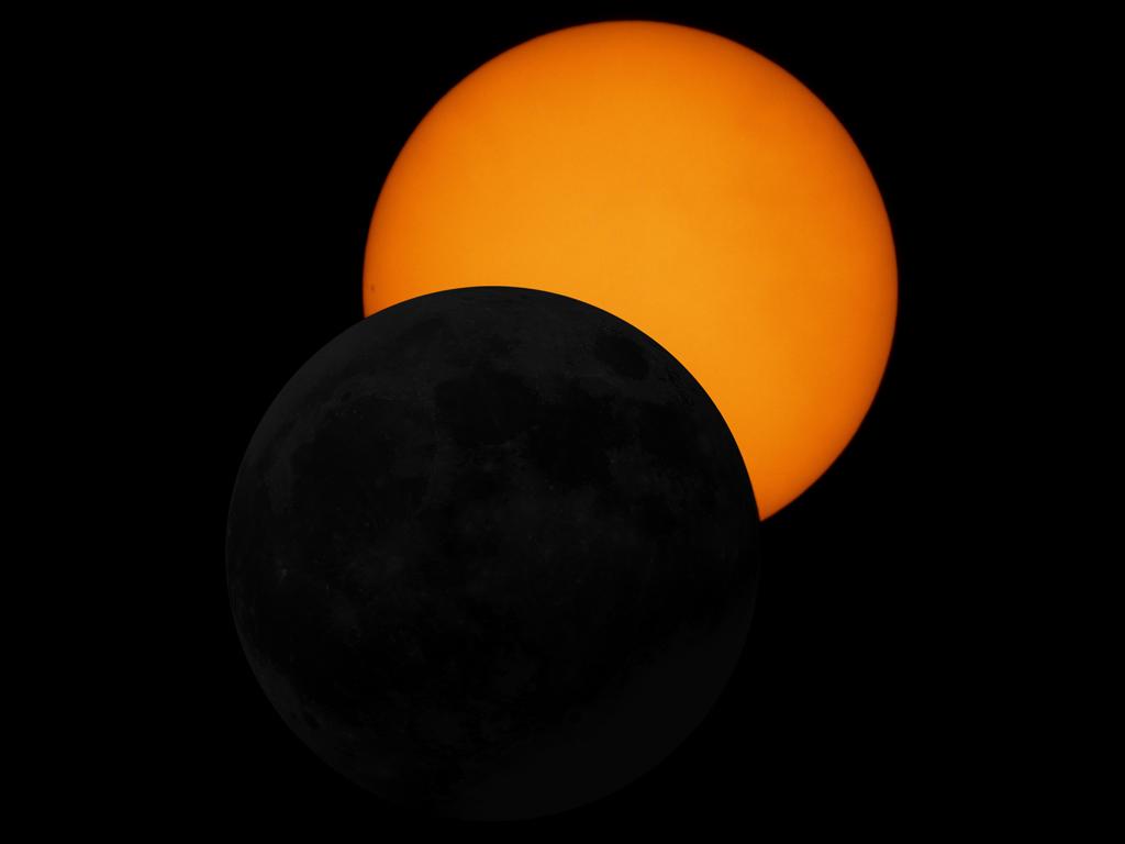 Eclipse parcial de Sol (29-03-2006)