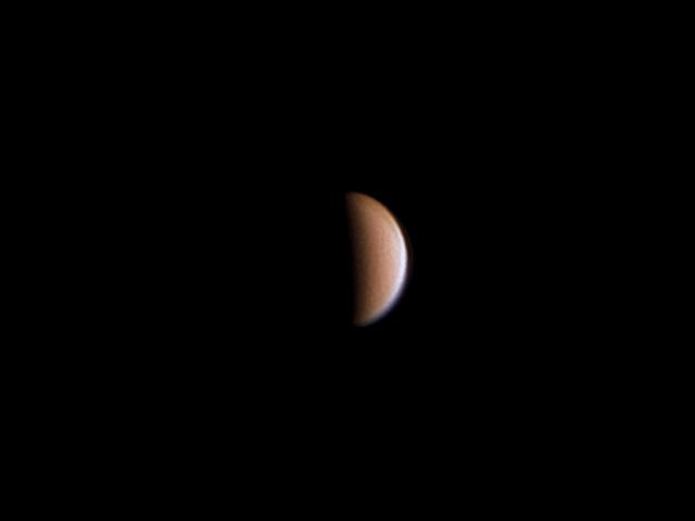 Fase de Venus, noviembre 2005