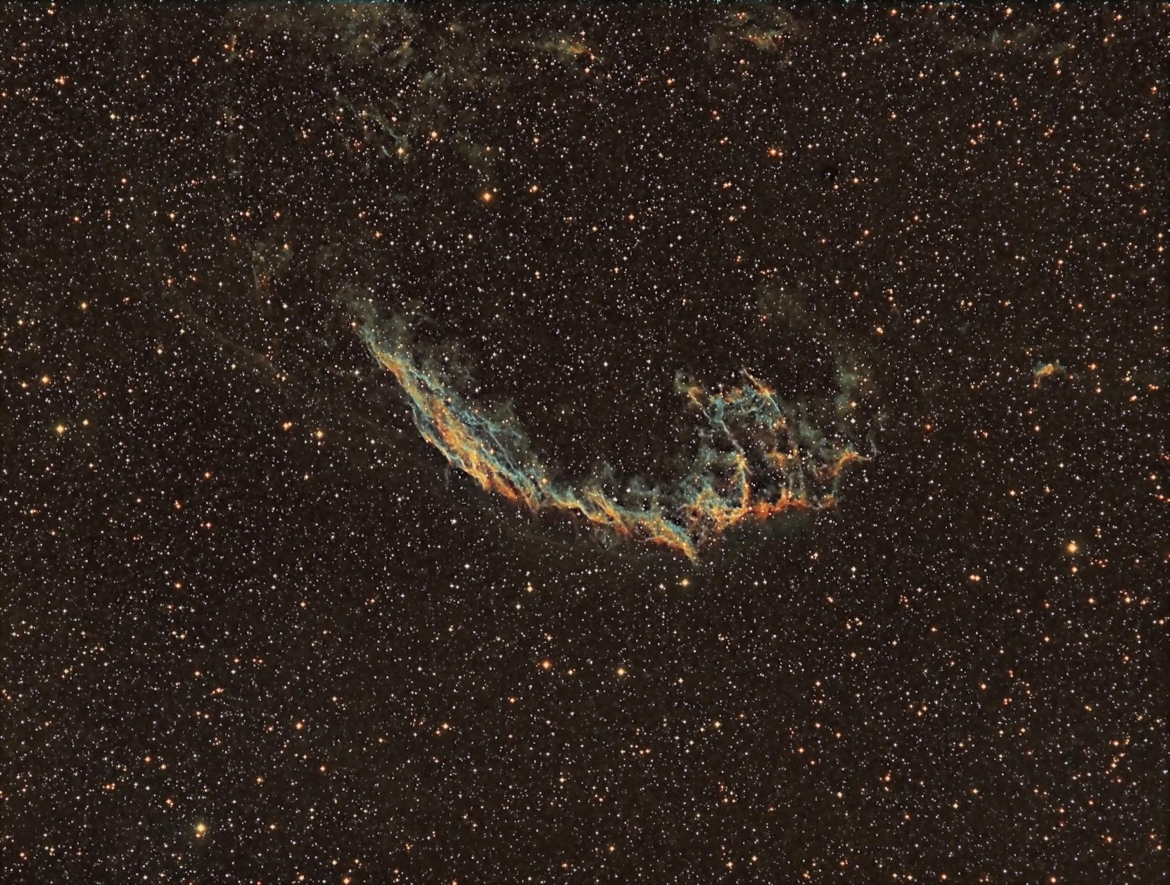 NGC 6992 – Nebulosa del Velo